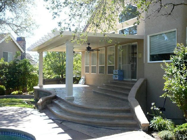 Solid Flat Patio Covers 14