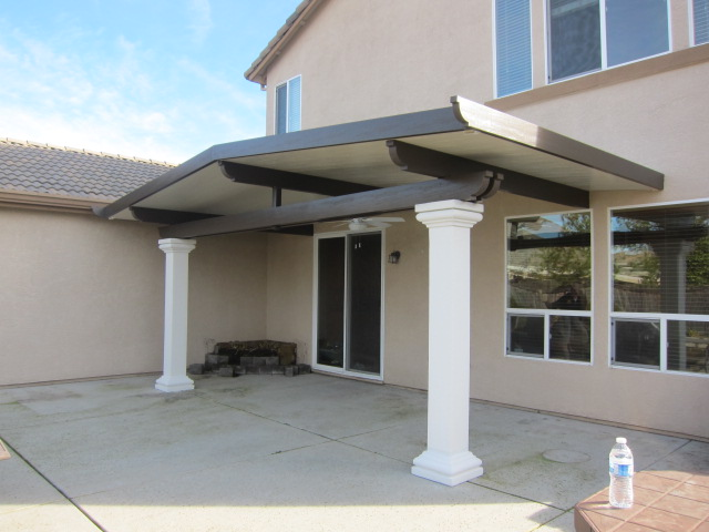 solid insulated type patio covers