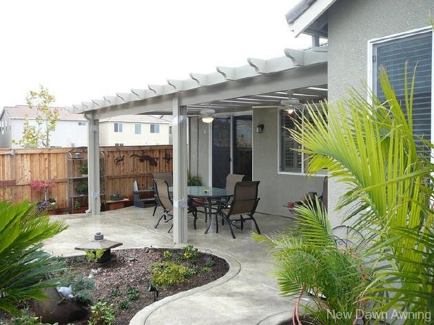 Solid Flat Patio Covers 4