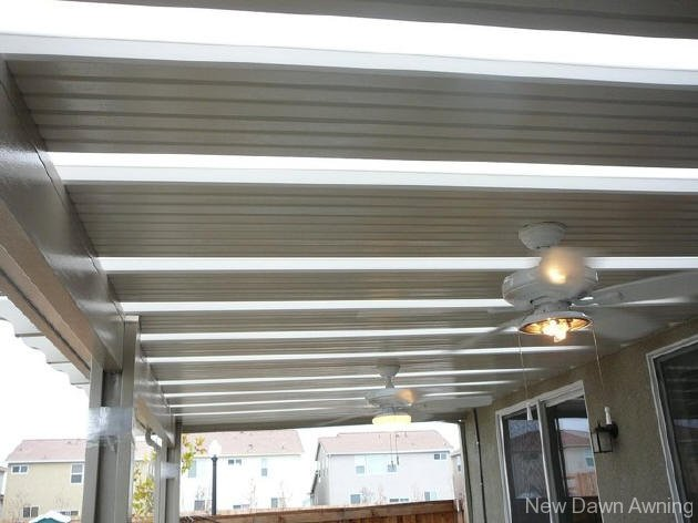 Solid Flat Patio Covers 3