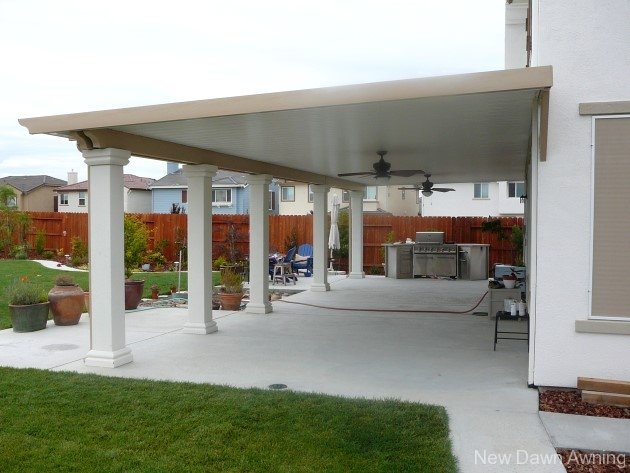 Superb ... Solid Flat Patio Covers 7 ...