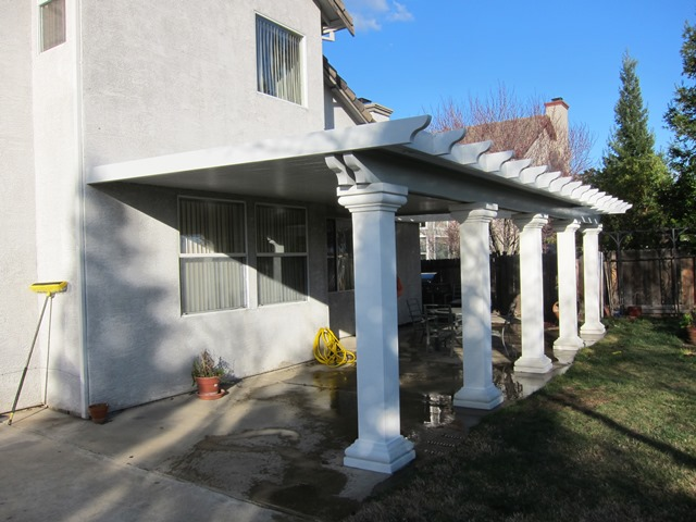 Solid Flat Patio Covers 2