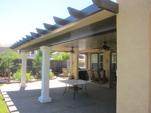 Solid Flat Patio Covers 19