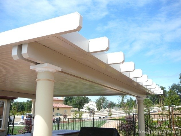 Solid Flat Patio Covers 11