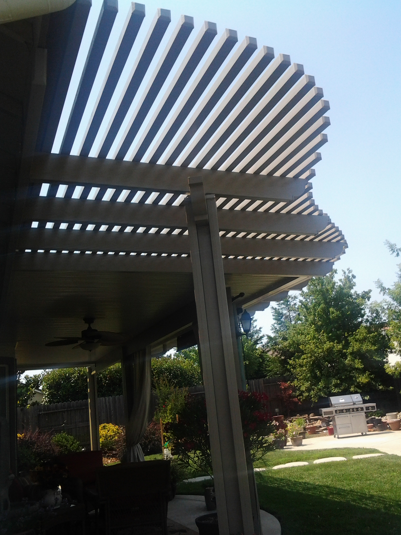 ... Combination Solid And Lattice Patio Covers 11 ...